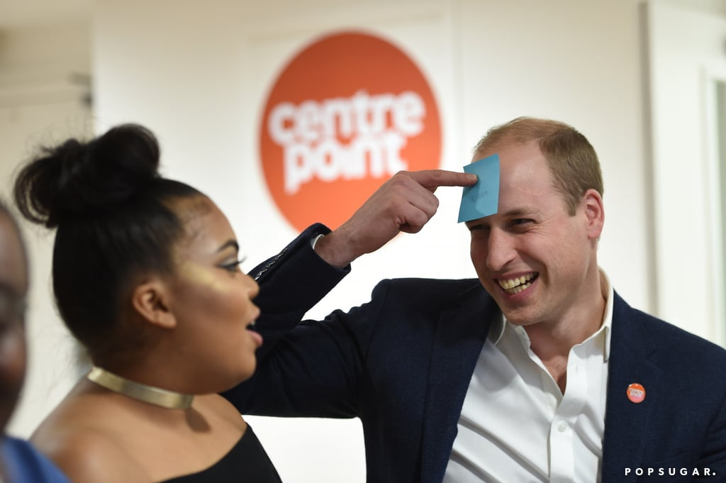 Prince William Turns on the Charm For a Cause Close to Princess Diana's Heart