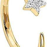 Missoma 18ct Gold Vermeil Cosmic Nova Pave Star Ring
