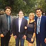 Jonathan Scott, Tarek el Moussa, Christina el Moussa, and Drew Scott
