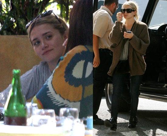 Photos of Ashley Olsen With Boyfriend Justin Bartha In LA