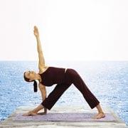 Strike A Yoga Pose:  Triangle Pose