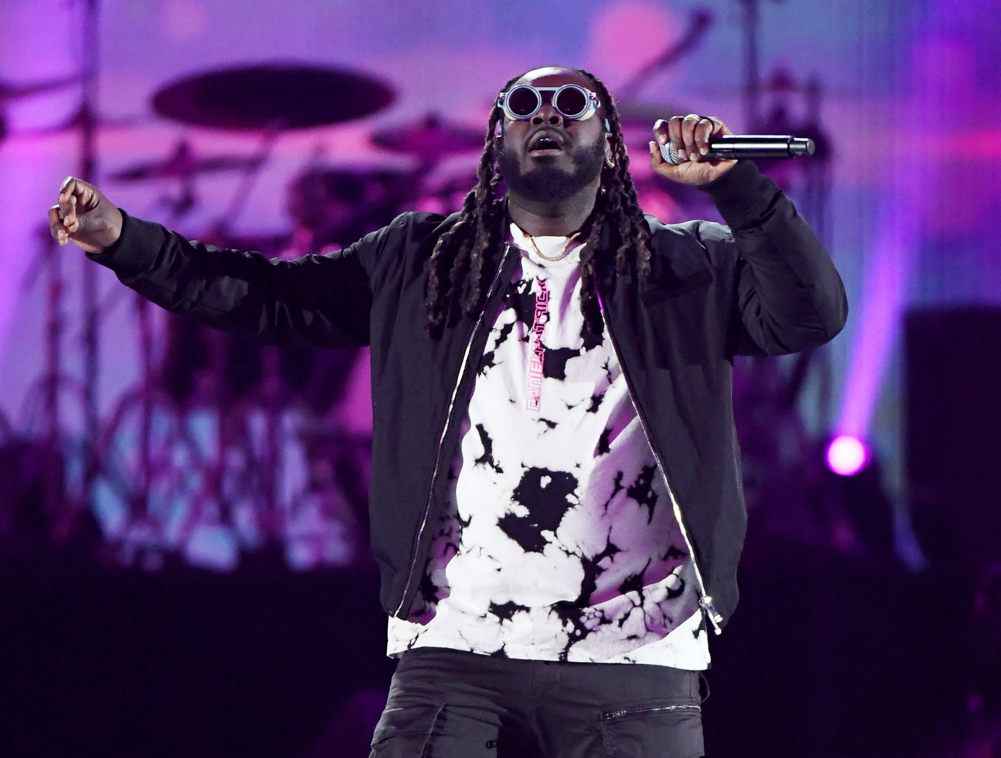 LAS VEGAS, NEVADA - SEPTEMBER 21:  T-Pain performs onstage during the 2019 iHeartRadio Music Festival at T-Mobile Arena on September 21, 2019 in Las Vegas, Nevada.  (Photo by Ethan Miller/Getty Images)