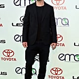 Justin Timberlake wore all black for the green event.