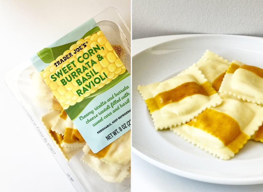 Sweet Corn, Burrata, and Basil Ravioli ($3)