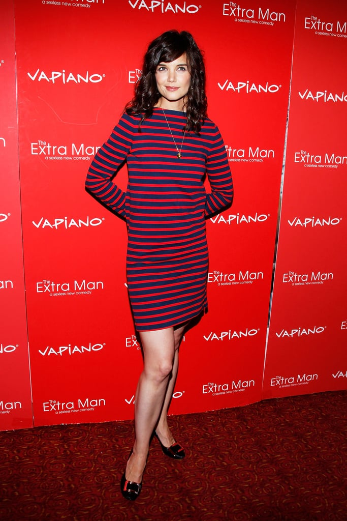 Katie Holmes at The Extra Man Premiere in NYC