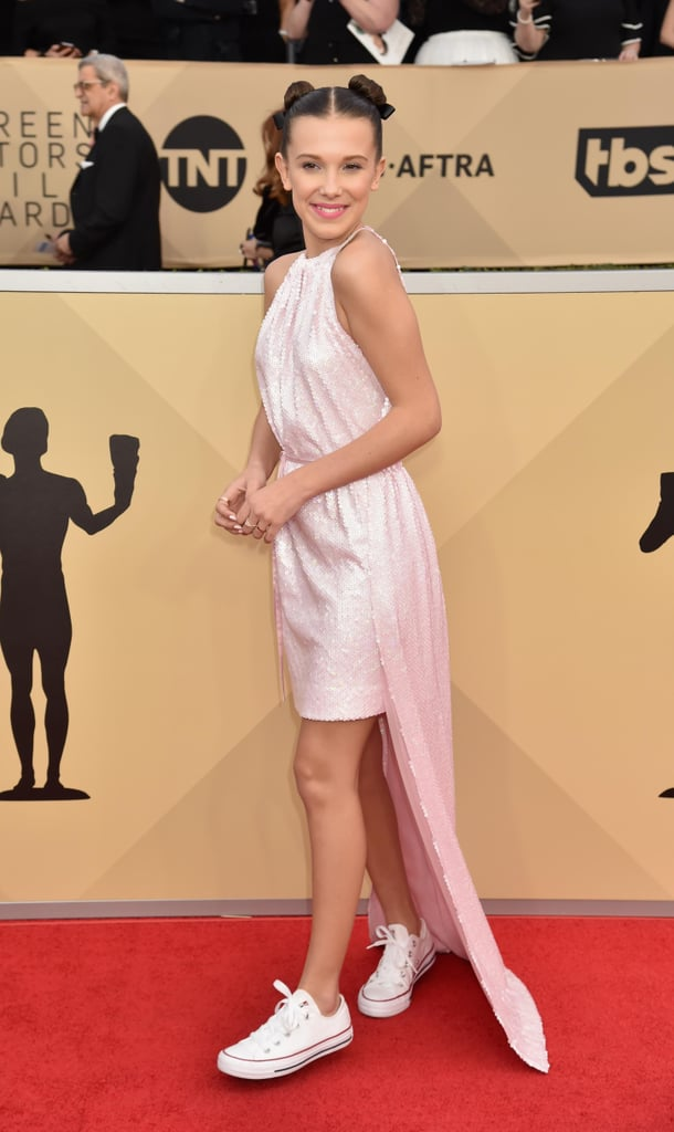 Sequinned Gowns at the SAG Awards 2018