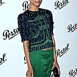 Zoe Saldana attended the Persol Magnificent Obsessions event in NYC.