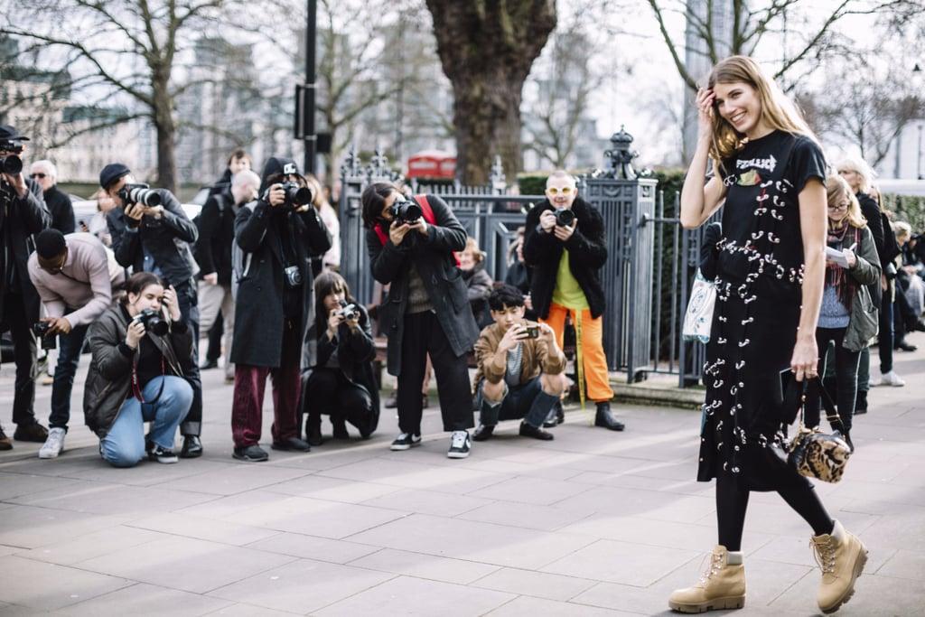 Best Street Style London Fashion Week Fall 2017