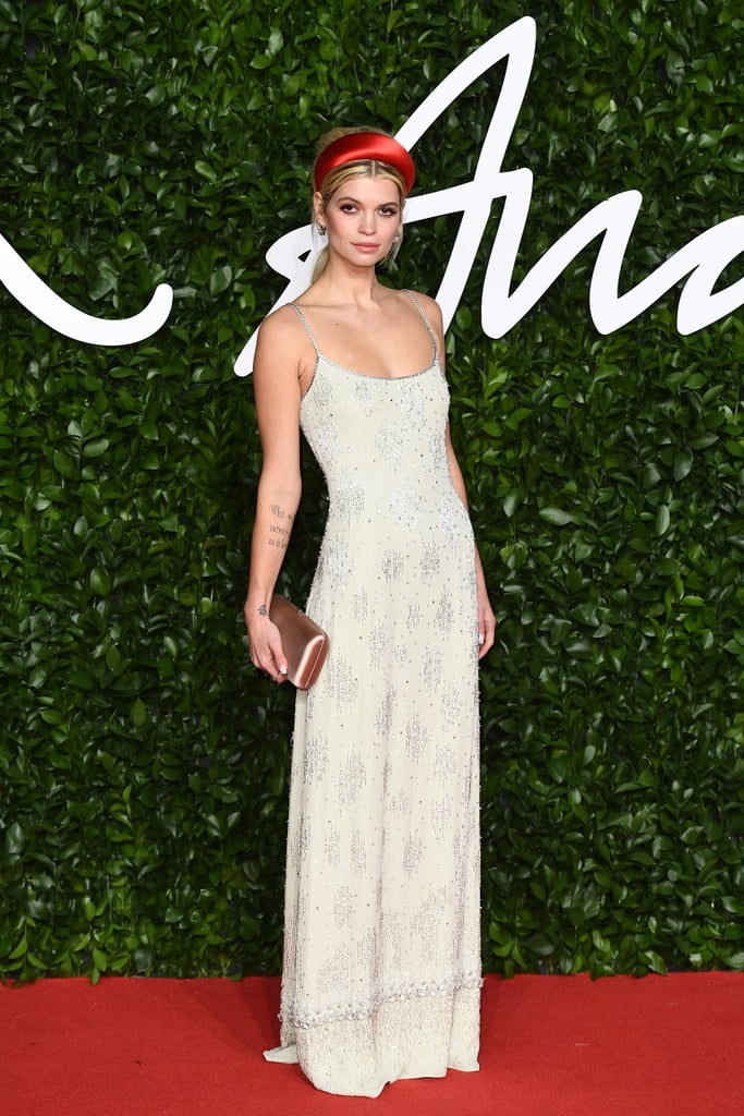 Pixie Geldof at the British Fashion Awards 2019
