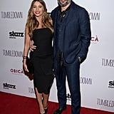 February at a Screening of Tumbledown in Santa Monica, CA
