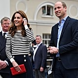 Prince William and Kate Middleton Talk About Baby Sussex