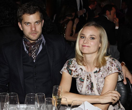 Photos of Joshua Jackson and Diane Kruger at the Fashion for Aids Dinner in Paris