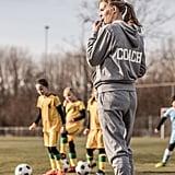 Coach a sports team.