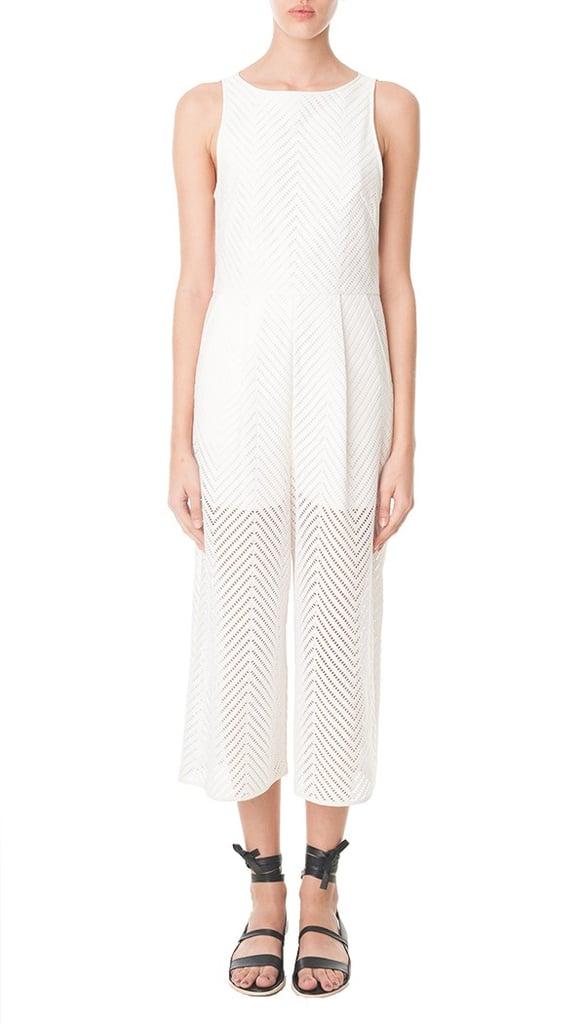 Tibi Blanca Lace Jumpsuit ($650)