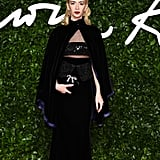 Sabina Getty at the British Fashion Awards 2019