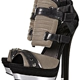 These heels prove that you can sport athletic footwear without resorting to sneakers. Topshop Lethal Padded Sporty Sandals ($150)