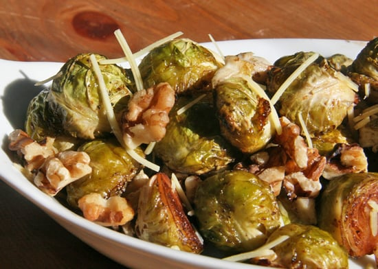 Seasonal Eats: Roasted Brussels Sprouts With Walnuts
