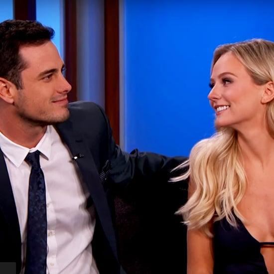 Ben Higgins and Lauren Bushnell on Jimmy Kimmel Live