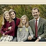 The Spanish Royal Family's Christmas Card 2016