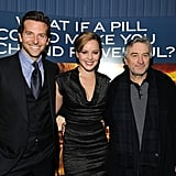 Bradley Cooper, Abbie Cornish and Robert De Niro
