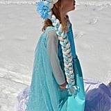 This beautiful Handmade Braided Elsa Wig ($25) totally eliminates the need to struggle with your kiddo's Halloween hairdo.