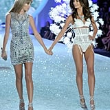 Can't get enough of Taylor and Lily? Check out their glamorous pictures from the Victoria's Secret Fashion Show.