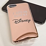 Typo Fluent in Disney Metallic Phone Case iPhone 6/6S/7/8