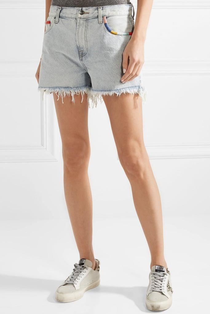 DENIM - Denim shorts Splendid m3ZTH