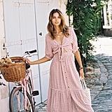 FAITHFULL THE BRAND Maple Midi Dress