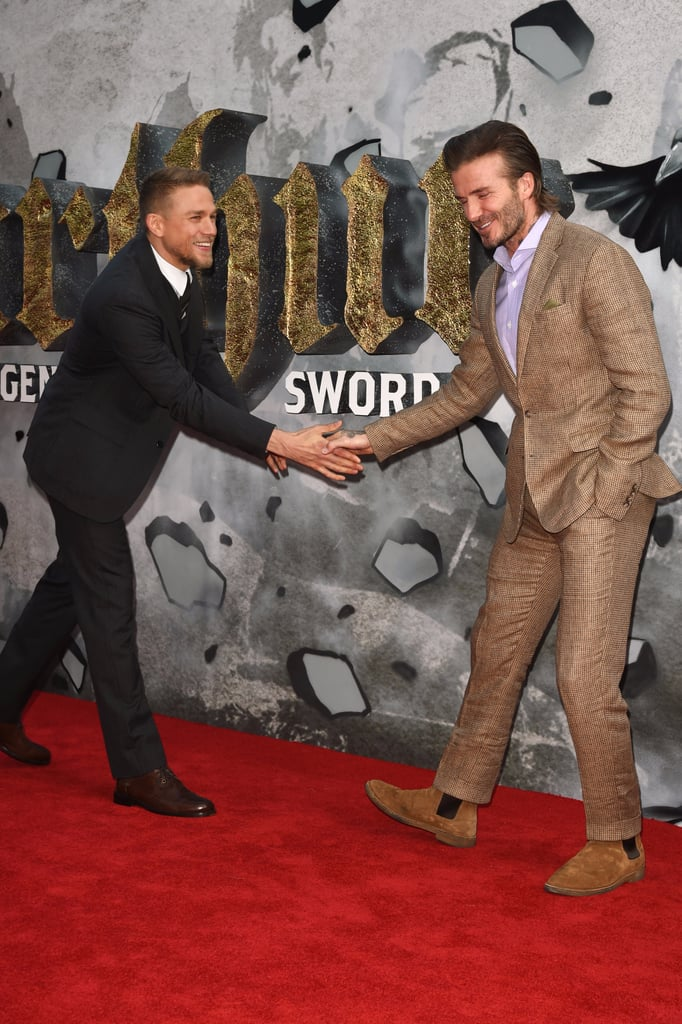 Celebrities Really Love Meeting David Beckham   Pictures
