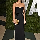 Olivia Wilde in a Gucci at the Vanity Fair Oscar party