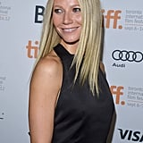 Gwyneth Paltrow Goes Simple in Black on the TIFF Carpet