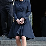 Kate at St. Paul's Cathedral in 2015