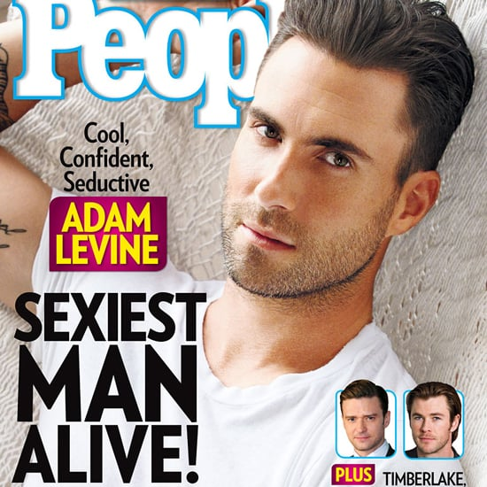 Adam Levine Named Sexiest Man Alive by People Magazine