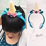 Unicorn Horn Headphones