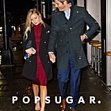 Arie Luyendyk Jr. and Lauren Burnham Out in NYC March 2018