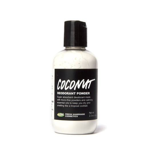 Made from powdered coconut milk, Lush's Coconut Deodorant Powder ($8) is a natural alternative to the regular stick deodorant.