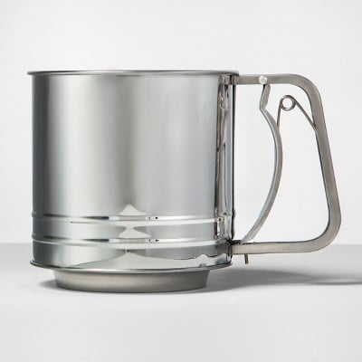 Made By Design Stainless Steel Flour Sifter
