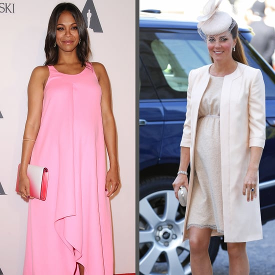 Zoe Saldana and Kristen Bell Pregnancy Style | Video