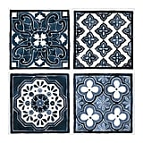 Pjätteryd Blue Patterns Set of 4 Pictures