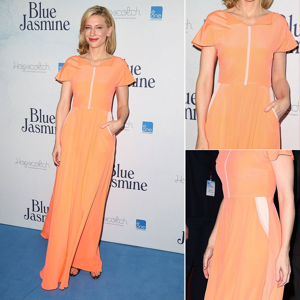 Cate Blanchett In Roksanda Ilincic at Sydney Blue Jasmine