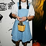 Jason Biggs went all out with his Dorothy Gale costume in 2005.