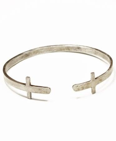Double Cross Cuff, $185