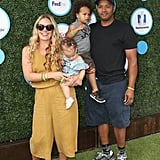 Donald Faison With Son Rocco at Safe Kids Day Event LA 2016