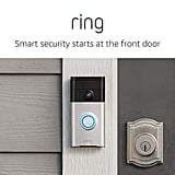 Ring Video Doorbell With HD Video, Motion Activated Alerts