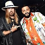 Billy Ray Cyrus and DJ Khaled at the 2019 MTV VMAs
