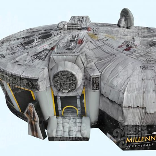 Star Wars Millennium Falcon Bounce House by Magic Jump