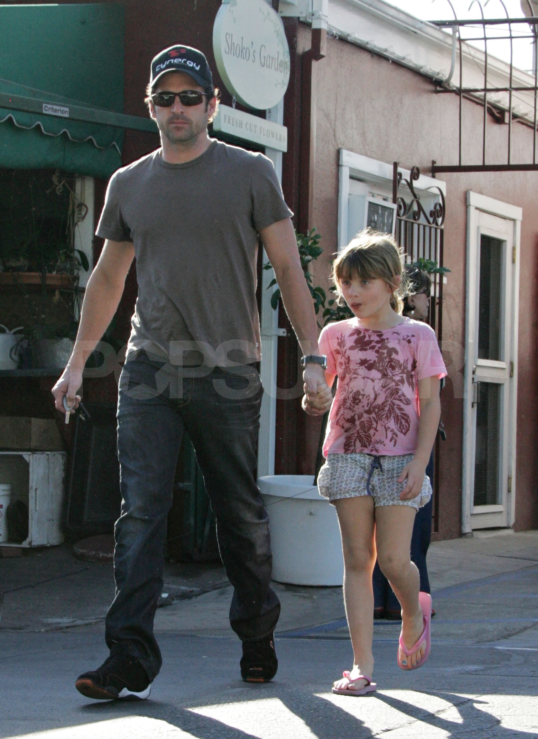 Photos Of Patrick Dempsey With His Daughter Tallulah In Los Angeles