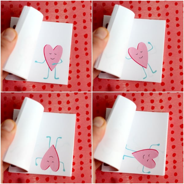 Flippin' Valentine Printable