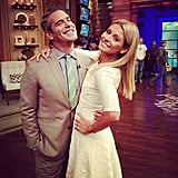 Kelly Ripa and Andy Cohen had a bonding moment. Source: Instagram user bravoandy